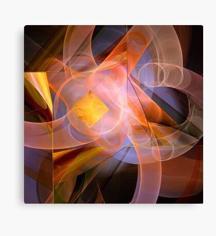 Playful abstract Canvas Print