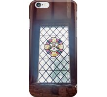 Stained Glass Window 2.0 - Anne of Cleaves House iPhone Case/Skin