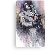 Jazz Saxophonist Charlie Parker Canvas Print