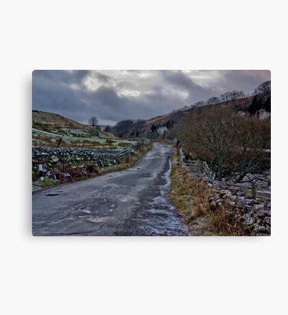 Country Road - Keld Canvas Print