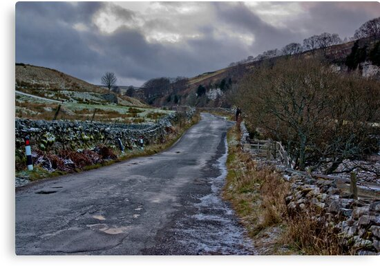 Country Road - Keld by Trevor Kersley