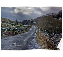 Country Road - Keld Poster