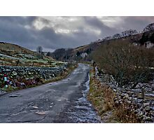 Country Road - Keld Photographic Print