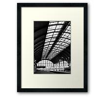 Hull Station Framed Print