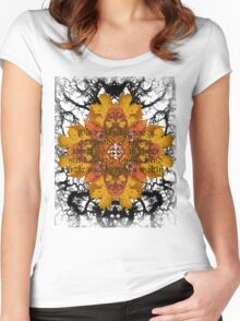 Autumn #2 Women's Fitted Scoop T-Shirt