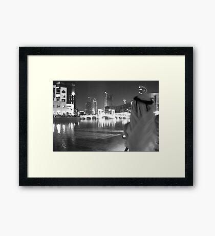 Burj Khalifa, UAE  Framed Print