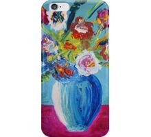 "Blue Vase Series ""Waiting Spring"" iPhone Case/Skin"