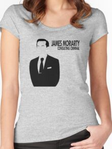 Jim Moriarty - Consulting Criminal Women's Fitted Scoop T-Shirt