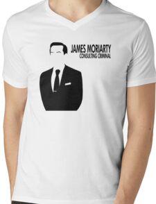 Jim Moriarty - Consulting Criminal Mens V-Neck T-Shirt