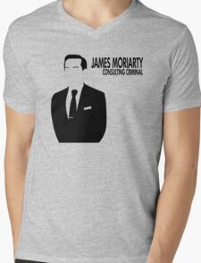 Jim Moriarty - Consulting Criminal Mens V-Neck T-Shirt