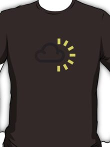 The weather series - Dark Cloud and Sun T-Shirt