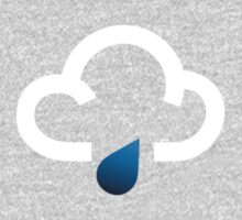 The weather series - White cloud with light rain Kids Clothes