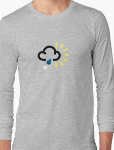 The weather series - Wintery weather Long Sleeve T-Shirt