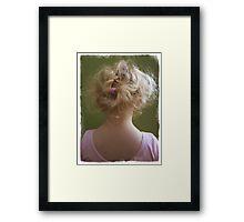 The Hair Band Framed Print