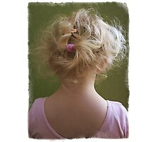 The Hair Band Photographic Print