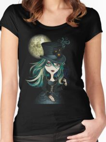 Raven's Moon Women's Fitted Scoop T-Shirt