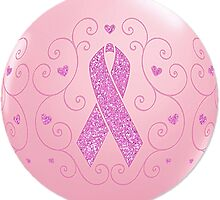 Breast Cancer Pink Ribbon Logo by HavenDesign