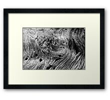 Aged Pattern, Breckenridge - Colorado Framed Print