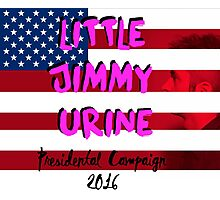 Mindless Self Indulgence - Jimmy Urine for president Photographic Print