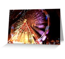Edinburgh Christmas Wheel Greeting Card