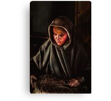 The Old Lady Canvas Print