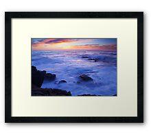 Ocean Sunrise Framed Print