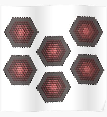 Hex - Incomplete - Red Poster