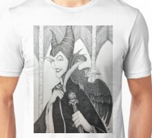 Maleficent - Pen and Ink Unisex T-Shirt