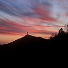 Currahee Mountain Sunset by Chelei