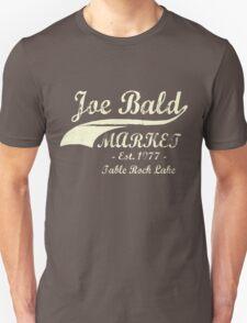 Joe Bald Market Unisex T-Shirt