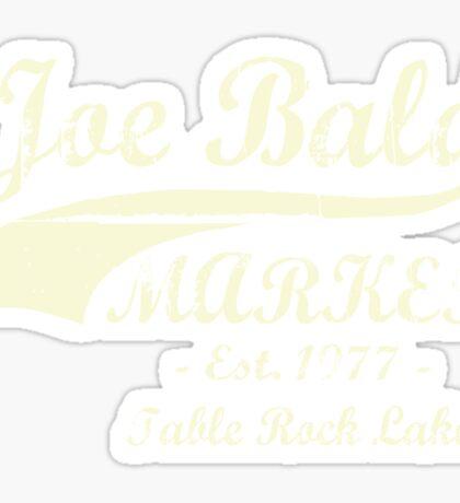 Joe Bald Market Sticker