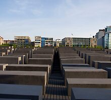 """Memorial to the Murdered Jews of Europe"" - Berlin by hideyourarms"