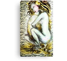 Sitter Canvas Print