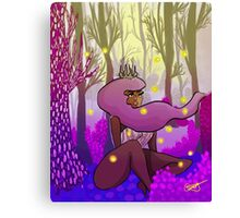 Woodland Princess Canvas Print