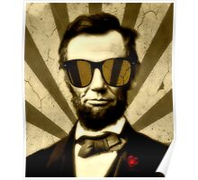 A. Lincoln And His Raybans Poster