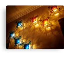 Lamps and Shadows Canvas Print