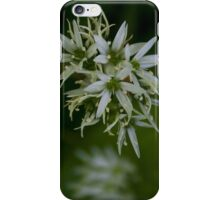 Wild Garlic Flower I Phone Case.  iPhone Case/Skin