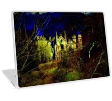 Haunted House Laptop Skin