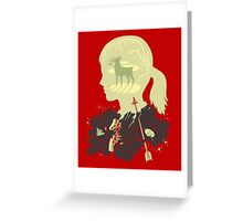 The Last of Us: Ellie Greeting Card