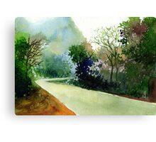 Turn Right Canvas Print