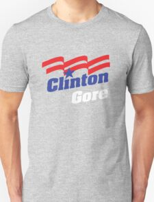 Clinton/Gore 1992 Campaign Logo T-Shirt