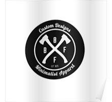 BFFB Logo - Vintage Poster