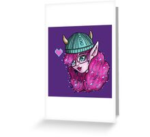 Monster High - Kjersti Trollson Greeting Card