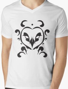 Whisp Owl Mens V-Neck T-Shirt