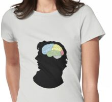 My Brain Is My Hard Drive Womens Fitted T-Shirt