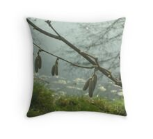 dewey light Throw Pillow