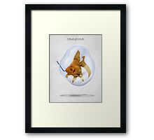 A Breath of Fresh Air Framed Print