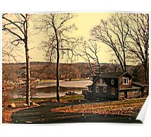 My Dream Home on Cupsaw Lake, Ringwood NJ Poster