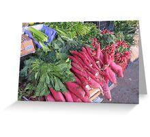 Radish - Rabano Greeting Card