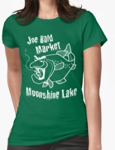Moonshine Lake Womens Fitted T-Shirt